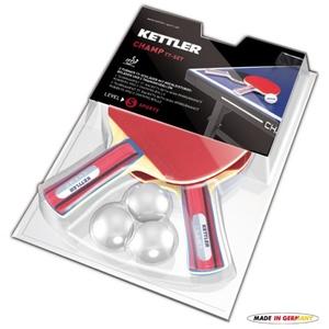 Set Tischtennisschläger a Bälle  Tisch- Tennis Kettler CHAMP 7091-700, Kettler
