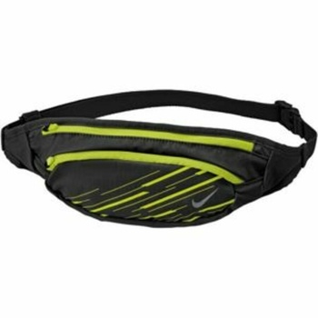 Nierentasche Nike Large Kapazität Waistpack Schwarz / Volt / Silber, Nike