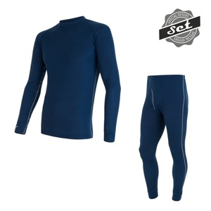 Herren Set Sensor ORIGINAL ACTIVE SET shirt + unterhosen dark  blau 17200051, Sensor