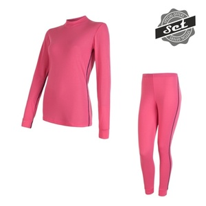 Damen Set Sensor ORIGINAL ACTIVE SET shirt + unterhosen rosa 17200054, Sensor