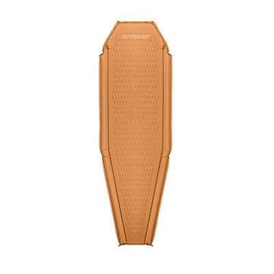 Schlafunterlage Trimm Kante orange/grau, Trimm
