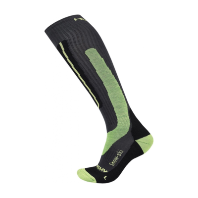Socken Husky Skifahren grün, Husky