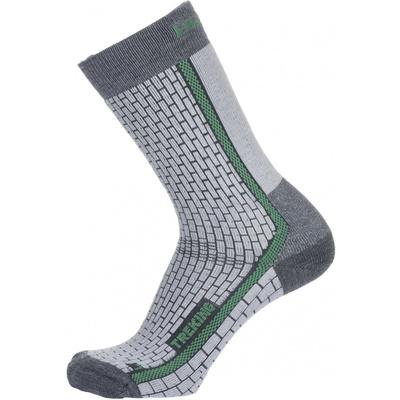 Socken Husky Trekking-Neuheiten grau / grün, Husky