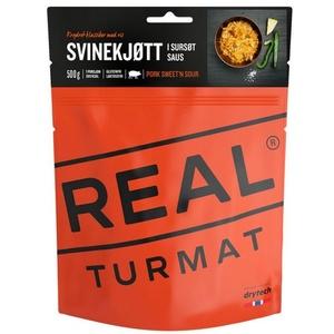 Real Turmat Schweinefleisch mit Reis in süß-sauer sauce, 127 g, Real Turmat