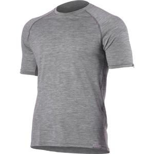 Merino T-Shirt Lasting QUIDO 8484 grey Wolle