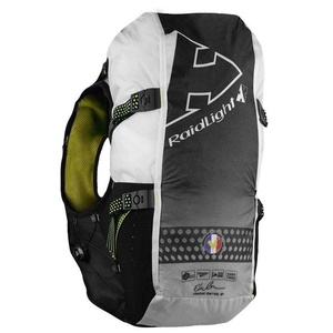 Lauf- Weste Raidlight Gilet LazerDry ansprechbar 20L+2*600ml Black/Yellow, Raidlight