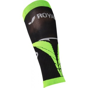 Kompression kalb Arm-/Beinlinge ROYAL BAY® Air Black/Green 9688, ROYAL BAY®