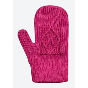 Kinder gestrickte Merino Handschuhe Kama RB202 114, Kama
