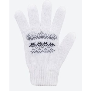 Kinder gestrickte Merino Handschuhe Kama RB203 100, Kama