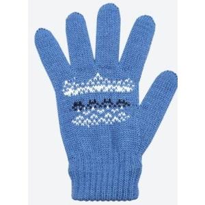 Kinder gestrickte Merino Handschuhe Kama RB203 107, Kama