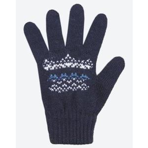 Kinder gestrickte Merino Handschuhe Kama RB203 108, Kama