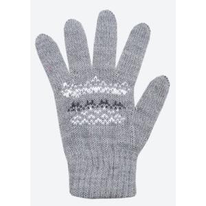 Kinder gestrickte Merino Handschuhe Kama RB203 109, Kama