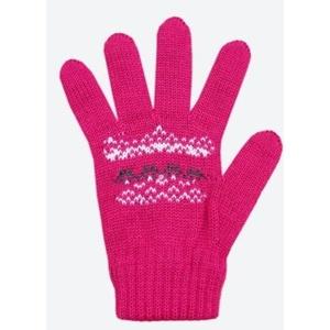 Kinder gestrickte Merino Handschuhe Kama RB203 114, Kama