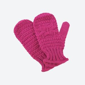 Kinder gestrickte Merino Handschuhe Kama RB206 114, Kama