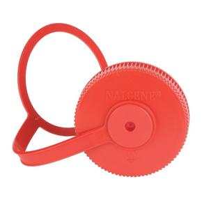 Ersatz- abdeckung NALGENE Weithals 63mm red, Nalgene