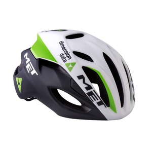 Helm MET rivale Dimension Daten Team white, Met