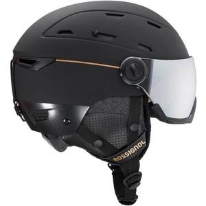 Ski Helm Rossignol Allspeed Visor Auswirkungen W black RKIH400, Rossignol
