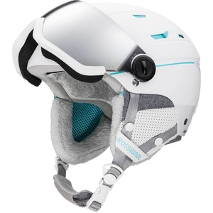 Ski Helm Rossignol Allspeed Visor Auswirkungen W white RKIH401, Rossignol