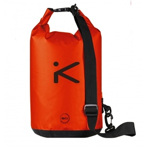 Bootstasche Hiko sport ROVER Cylindric 50L 84010, schwarz, orange, Hiko sport
