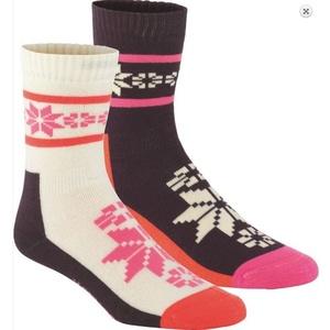 Socken Kari Traa RUSA WOOL SOCK 2PK Mau, Kari Traa