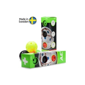 Set Floorball Bälle Salming Aero Plus Ball 4-pack, Colour Mix, Salming