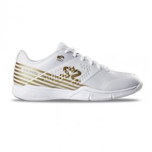 Schuhe Salming Viper 5 Shoe Women Weiß / Gold, Salming
