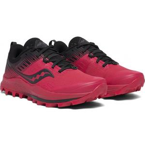 Herren Lauf Schuhe Saucony Peregrine 10 Red/Black, Saucony