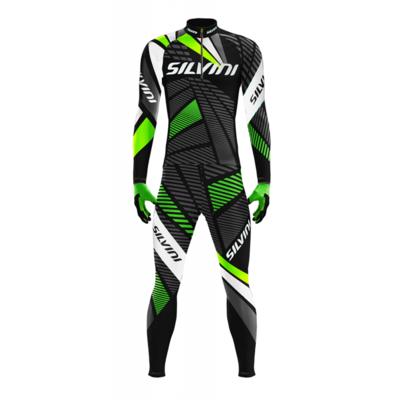 Herren skilanglauf wettbewerbsfähig Overall Silvini Scando Men RSM1511 black, Silvini