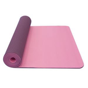 Unterlage  Yoga YATE Yoga Mat doppelschicht / pink / violett / material TPE, Yate