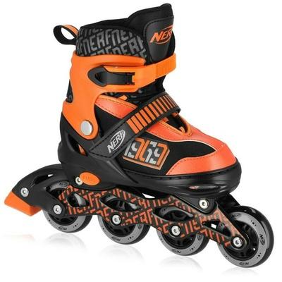 Rollerskates Spokey HASBRO STRIVE NERF schwarz und orange, Spokey