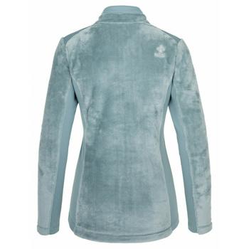 Damen warm Kapuzenpullover ohne Kapuze Kilpi SKATHI-W hellblau, Kilpi