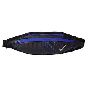 Nierentasche Nike Small Kapazität Waistpack Schwarz / Paramount Blau / Silber, Nike