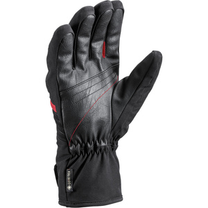 Ski Handschuhe LEKI Spox GTX schwarz/rot, Leki