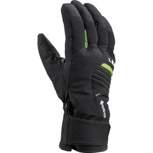 Ski Handschuhe LEKI Spox GTX schwarz / lime, Leki