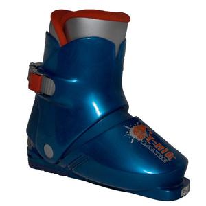 Ski Schuhe Lange T-Kid blue, Lange