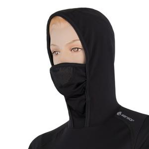 Damen T-Shirt Sensor THERMO schwarz / pattern 17200061, Sensor