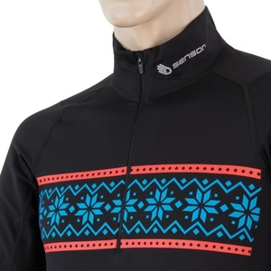 Herren T-Shirt Sensor THERMO schwarz / pattern 17200058, Sensor