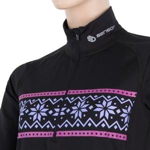 Damen T-Shirt Sensor THERMO schwarz / pattern 17200060, Sensor