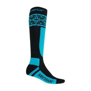 Socken Sensor THERMOSNOW NORWEGEN schwarz/blau 17200089, Sensor