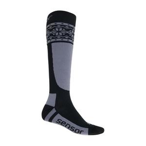 Socken Sensor THERMOSNOW NORWEGEN schwarz/grau 17200088, Sensor