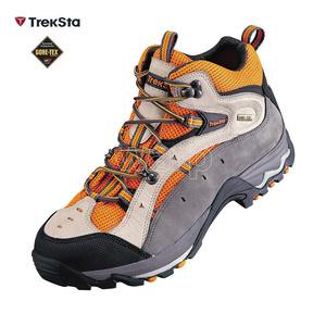 Schuhe Treksta TrekSta Ahorn GTX orange / grau Man, Treksta