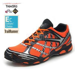 Schuhe Treksta Sync GTX Woman schwarz/orange, Treksta