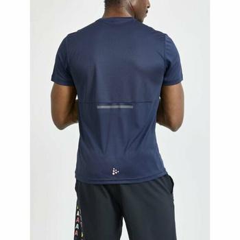 Herren T-Shirt CRAFT Core Charge 1910664-396000 dark  blue, Craft