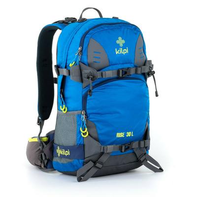 Freifahrt und alpin Rucksack Kilpi RISE-U blau, Kilpi
