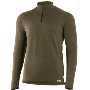 Merino T-Shirt Lasting Vorsichtig 6369 green Wolle, Lasting