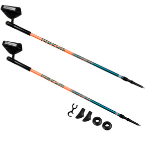 Hole Nordic Walking 2-dílné Spokey MEADOW II blauer lachs, Spokey