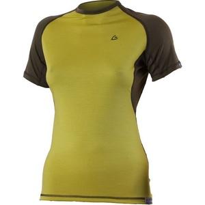 Merino T-Shirt Lasting ZITA 6463 green Wolle, Lasting